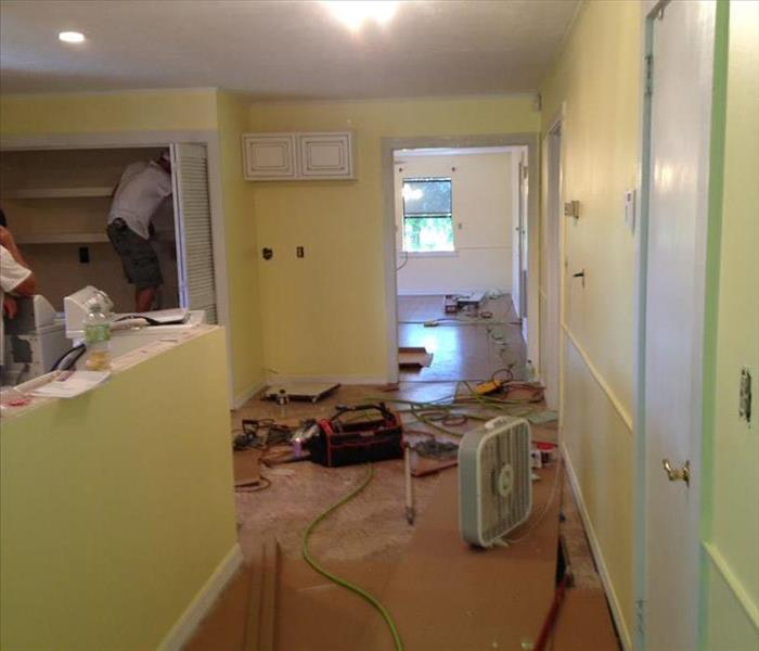 Kitchen Fire- Reconstruction SERVPRO of Biloxi After