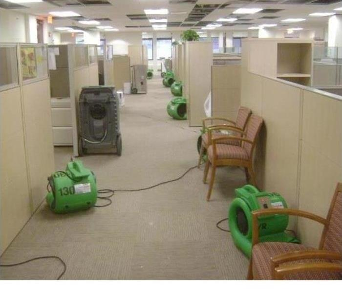 Office building commercial water loss